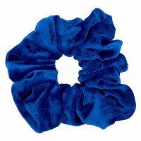 Blue velvet hair grip