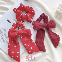 Cute Solid Color Grosgrain Bow Hair Clip