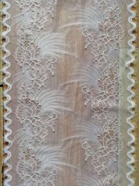 Popular Embroidery Lace Dress Fabric